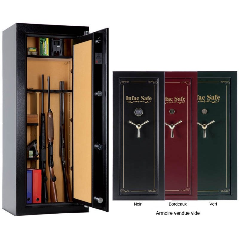 armoire forte infac gamme big safe metallique. Black Bedroom Furniture Sets. Home Design Ideas