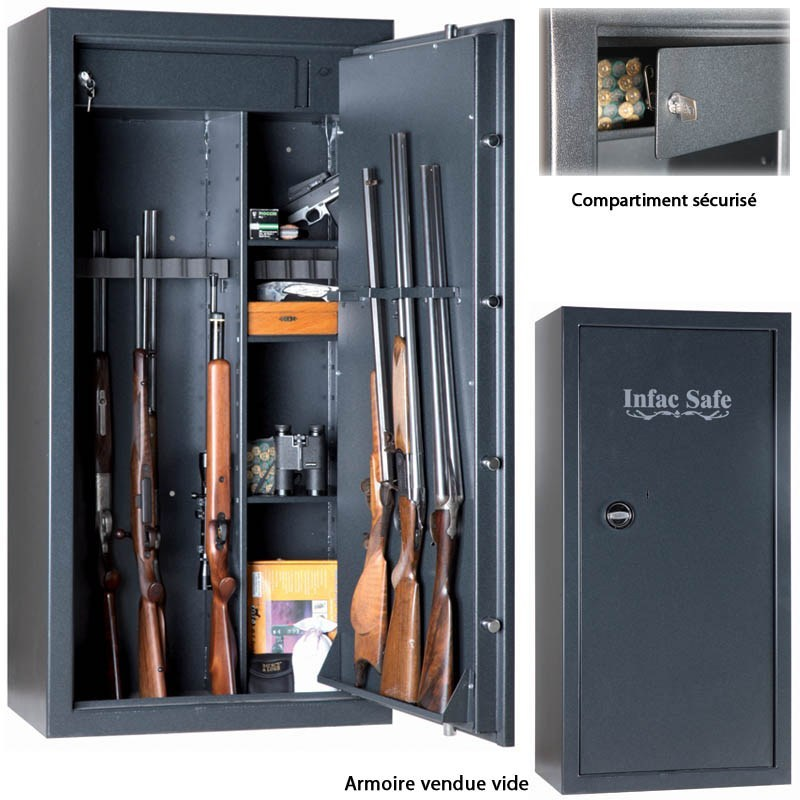 armoire forte fusil pas cher. Black Bedroom Furniture Sets. Home Design Ideas
