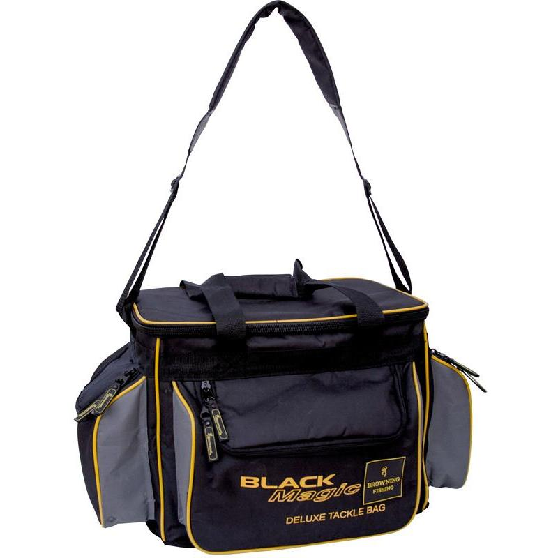 Bag browning black magic deluxe tackle bag for Browning fishing backpack