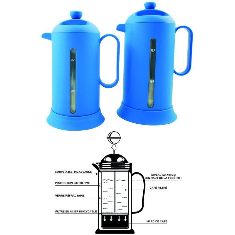 cafetiere teapot thermos euromarine for 4 cups. Black Bedroom Furniture Sets. Home Design Ideas