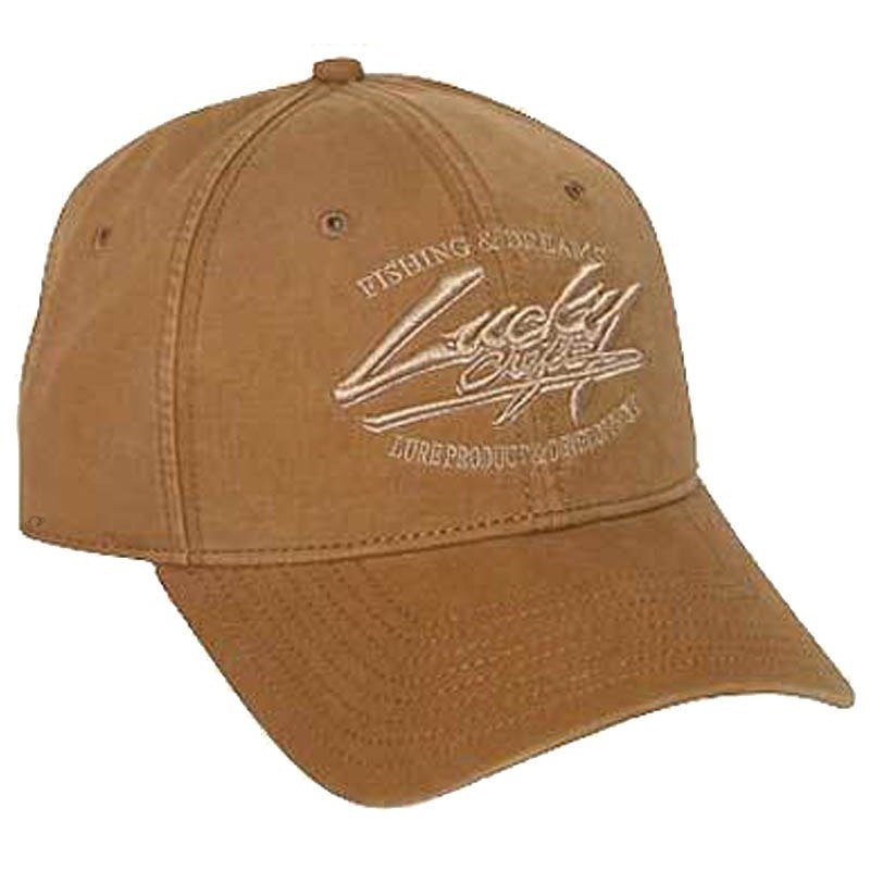 Casquette homme lucky craft cap brown for Cap crafter