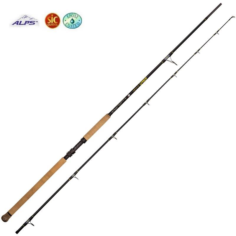 Catfish rod black cat the cat spin for Cat fishing pole