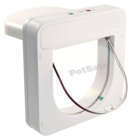 CHATIERE ELECTRONIQUE STAYWELL PETPORTE SMART FLAP MONTAGE PORTE