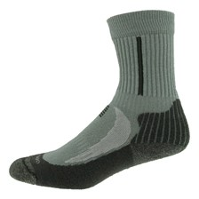 CHAUSSETTES QUECHUA FORCLAZ 500 JR ENFANT GRIS