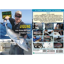 DVD - JIGGING AVEC JRME BERTRAND - PCHE EN MER - VIDO PCHE