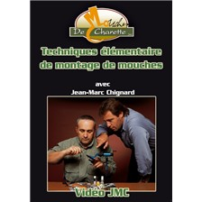 DVD JMC TECHNIQUES LMENTAIRES DU MONTAGE DE MOUCHE