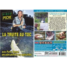 DVD - LA TRUITE AU TOC AVEC PIERRE SEMP - PCHE DE LA TRUITE - VIDO PCHE