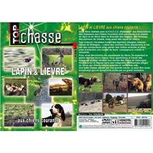 DVD - LAPIN ET LIVRE AUX CHIENS COURANTS  - CHASSE DU PETIT GIBIER - TOP CHASSE