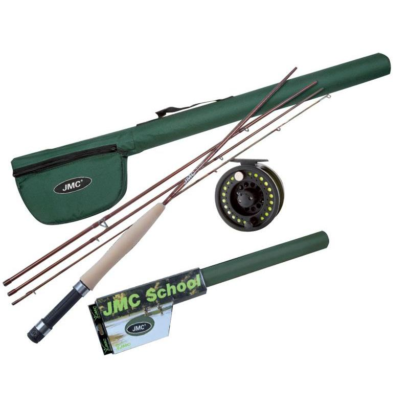 Fly combo jmc kit school for Fly fishing combo kit