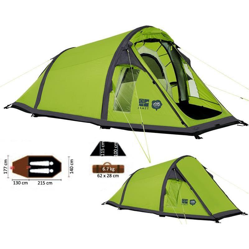 Inflatable tent jamet oregon 2 men