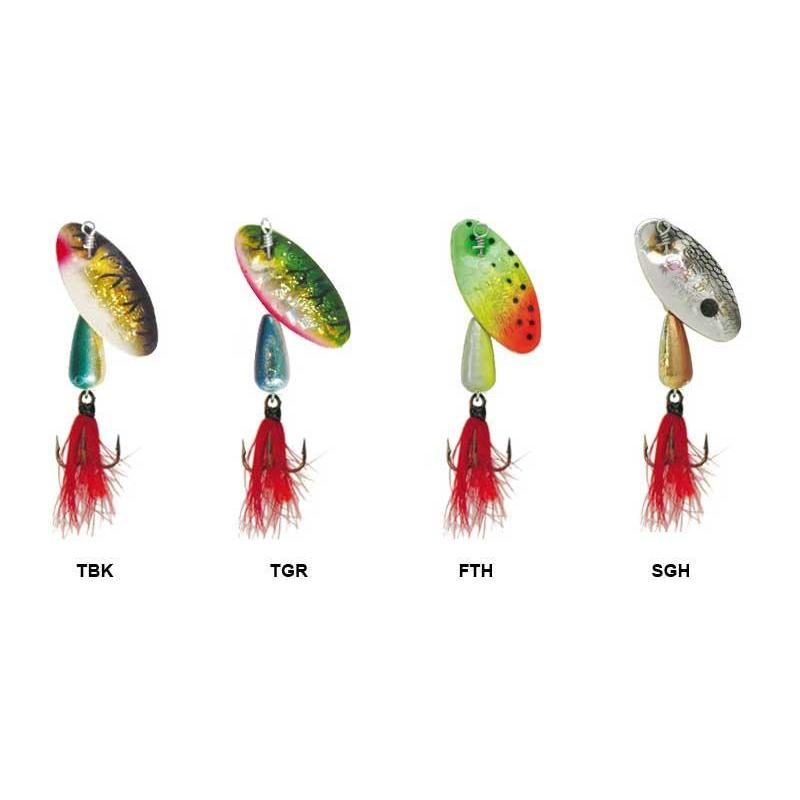 inline spinner panther martin olografico idiot mosca, Fly Fishing Bait