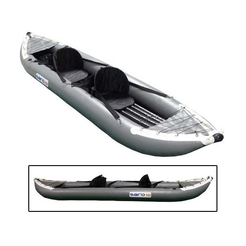 Kayak gonflable saro expedition 2 - Kayak gonflable 2 places ...