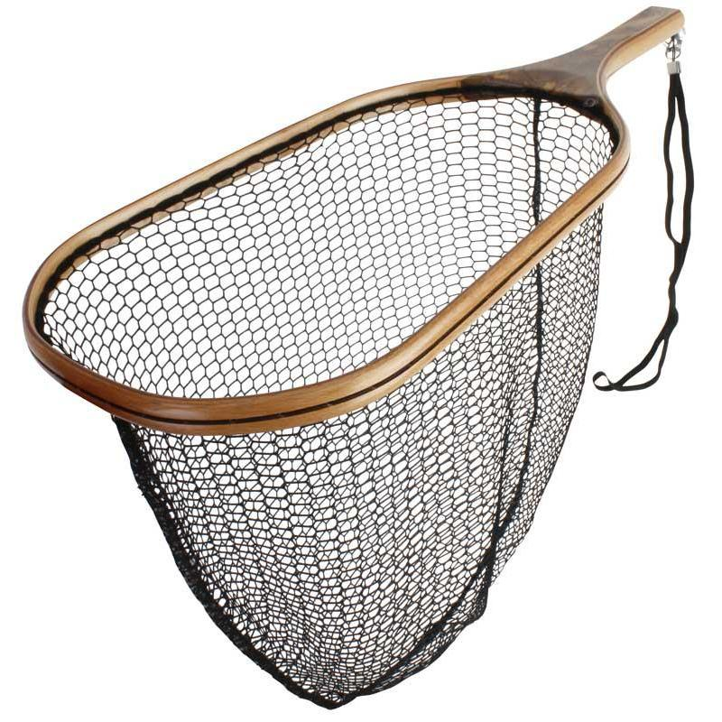 landing net wood scierra trout wooden net