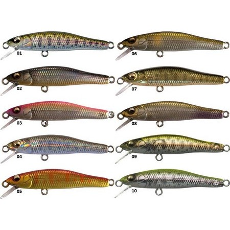 LEURRE COULANT MEGABASS X-55 GREAT HUNTING - 5.5CM