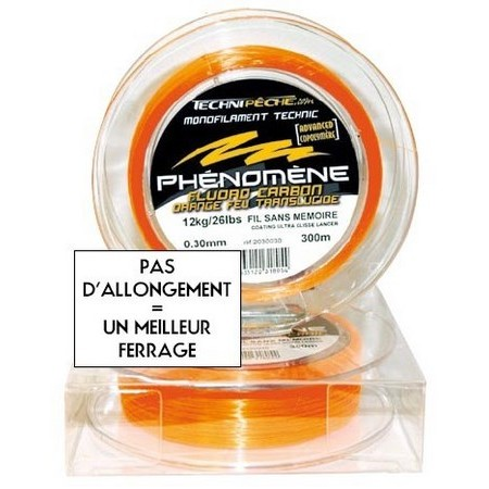 NYLON TECHNIPÊCHE PHENOMENE ORANGE