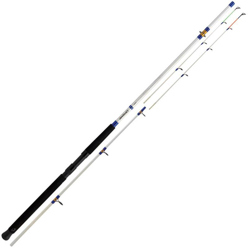 Saltwater rod daiwa triforce boat quiver for Bottom fishing rods