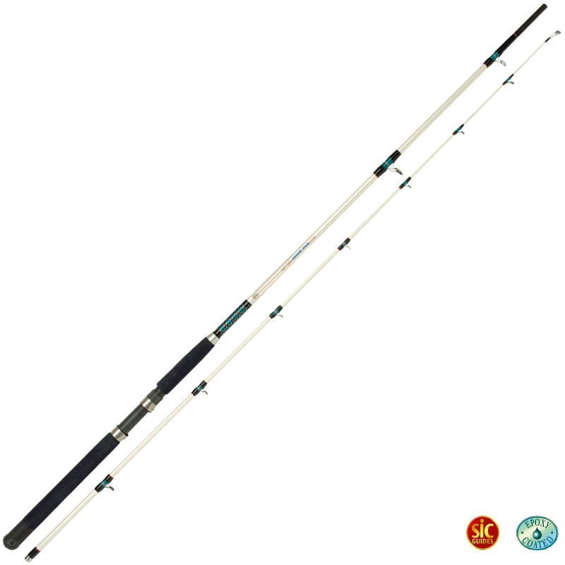Saltwater rod rhino baltic trolling diver for Rhino fishing pole