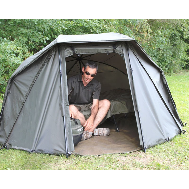 Shelter starbaits oval brolly g2