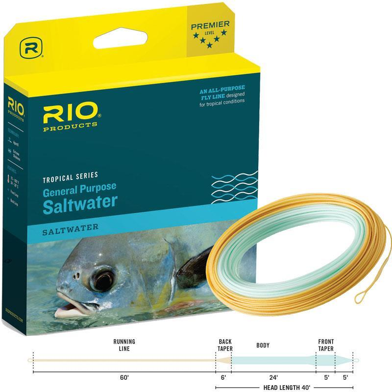 Fly Fishing Line Tropical
