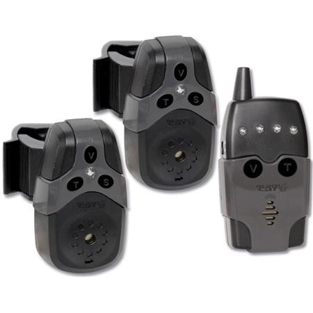 2 BITE ALARMS + RECEIVER BLACK CAT BLACK CAT 2