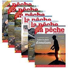 Abonnement Magazine La Pêche & Les Poissons 1 An Print + Numerique