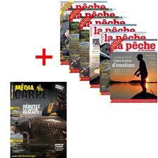 ABONNEMENT MAGAZINE LA PÊCHE & LES POISSONS + MEDIA CARPE