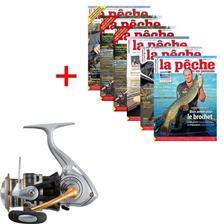 ABONNEMENT MAGAZINE LA PÊCHE & LES POISSONS + MOULINET DAIWA CREST 3000 H