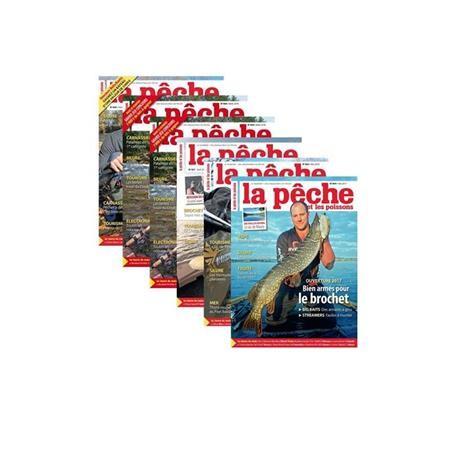 ABONNEMENT MAGAZINE LA PÊCHE & LES POISSONS