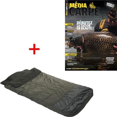 ABONNEMENT MAGAZINE MEDIA CARPE + DUVET JRC EXTREME 3D TX