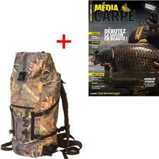 ABONNEMENT MAGAZINE MEDIA CARPE + SAC A DOS ETANCHE DRY BACKPACK HPA