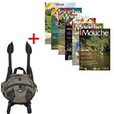ABONNEMENT MAGAZINE PECHE MOUCHE + CHEST PACK JMC
