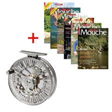 ABONNEMENT MAGAZINE PECHE MOUCHE + MOULINET GALAXY II JMC