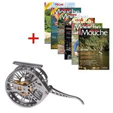 ABONNEMENT MAGAZINE PECHE MOUCHE + MOULINET JMC OZONE