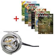 Abonnement Magazine Peche Mouche + Moulinet Jmc Yoto Serie Limitee Silver