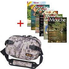 ABONNEMENT MAGAZINE PECHE MOUCHE + WAISTPACK HPA INFLADRY 5