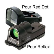 ACCESSOIRES POINT ROUGE TRIJICON