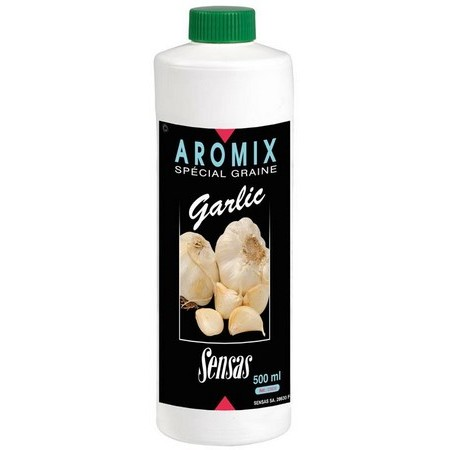 ADDITIF LIQUIDE SENSAS AROMIX GARLIC - 500ML