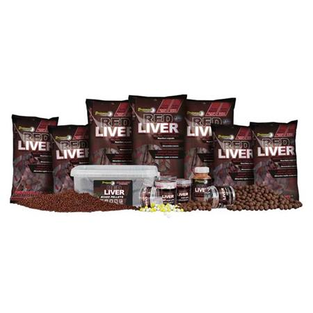 ADDITIF LIQUIDE STARBAITS PERFORMANCE CONCEPT RED LIVER DIP ATTRACTOR