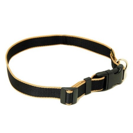 ADJUSTABLE DOG COLLAR ARKA HAOK SAFRAN