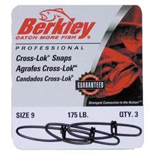 Tying Berkley CROSS LOK SNAPS N° 6