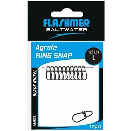 AGRAFE FLASHMER RING SNAP - PAR 10