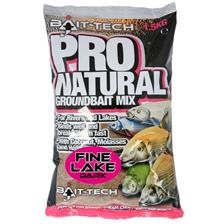 Baits & Additives Bait Tech PRO NATURAL FINE LAKE DARK 141528\1