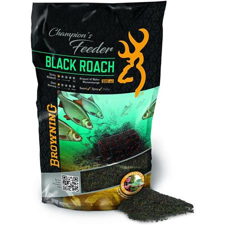 AMORCE BROWNING CHAMPION'S FEEDER MIX BLACK ROACH