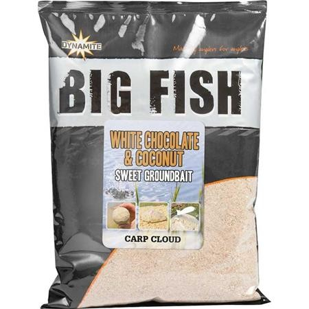 AMORCE DYNAMITE BAITS WHITE CHOCOLATE & COCONUT GROUNDBAID BIG FISH
