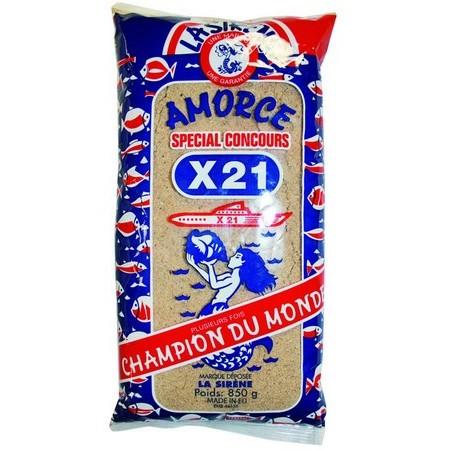 AMORCE LA SIRÈNE X21 - 850G ET 2.5KG