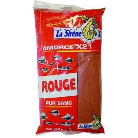 AMORCE LA SIRÈNE X21 ROUGE - 850G
