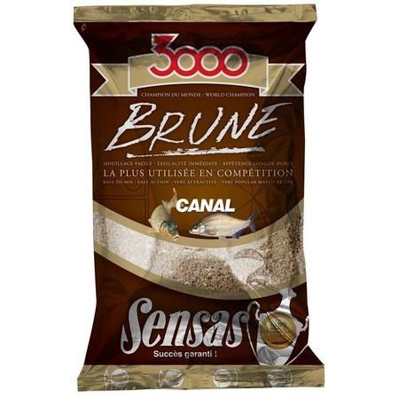 AMORCE SENSAS 3000 BRUNE CANAL 1KG