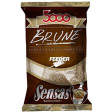 AMORCE SENSAS 3000 BRUNE FEEDER 1KG