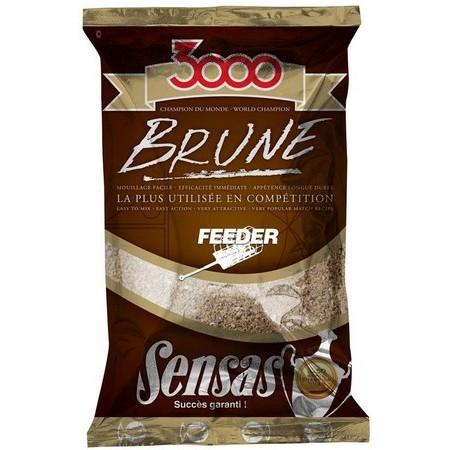 AMORCE SENSAS 3000 BRUNE FEEDER 1KG