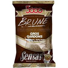 AMORCE SENSAS 3000 BRUNE GROS GARDON 1KG